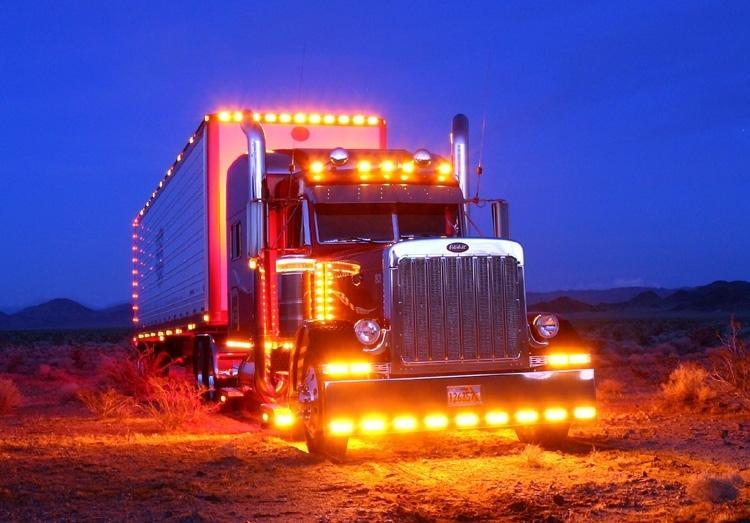 This is what I would look like if I really were an 18-wheeler.
