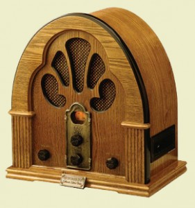 Old ass radio. Or 'vintage' if you prefer.