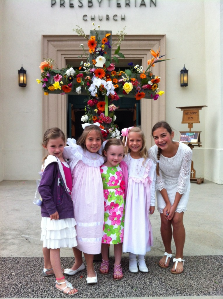 Easter Angels in their Sunday Best