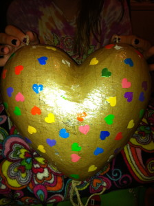 Sugar Bean's Valentine Box from preschool