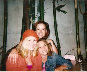 The Chickens, circa 2003...at a favorite spot of ours. Good times.....